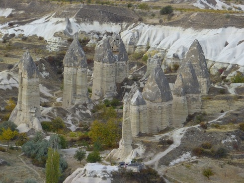 fairy chimneys tufa cappadocia