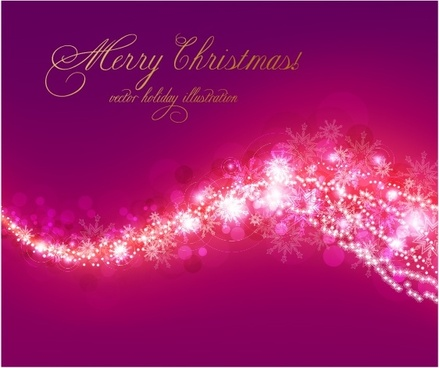 fancy christmas background pattern vector