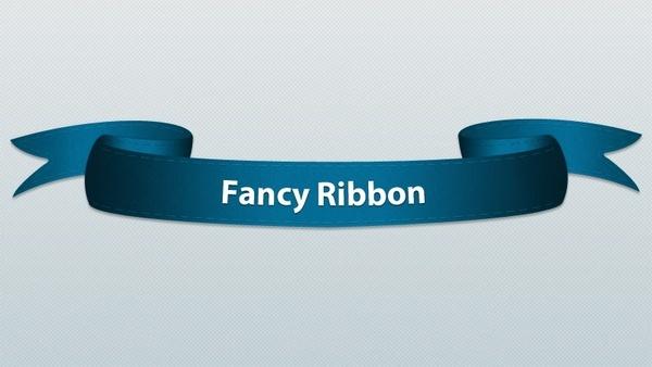 Fancy Ribbon PSD