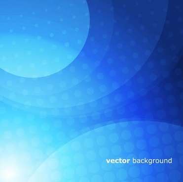 decorative background template modern shiny blue blurred curves