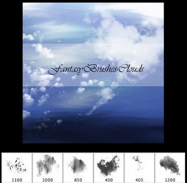 Fantasy Cloud Brushes