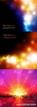 abstract background templates sparkling bokeh light decor