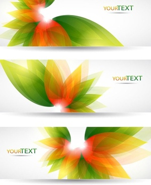 fantasy flowers background banner template vector 4