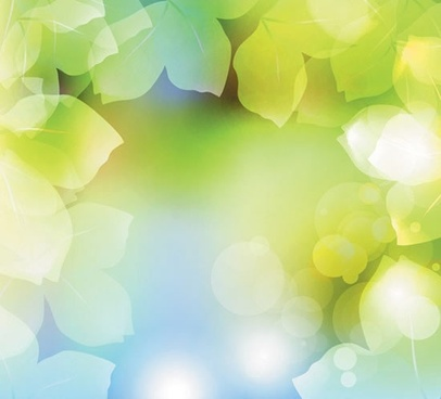 nature background bright vivid green blurred leaves decor