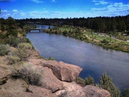 farewell bend park oregon river