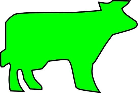 Farm Animal Outline clip art