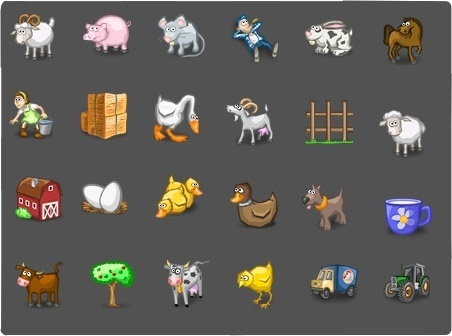 Farm Icons icons pack