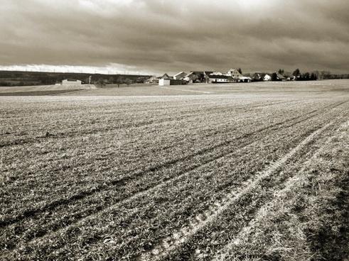 farm landscape rural
