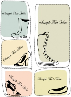 fashion boots illustrator 04 vector