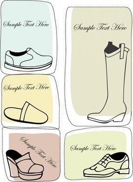 fashion boots vector illustration