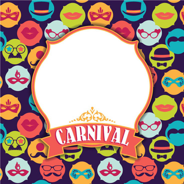 fashion carnival design vector backgrounds