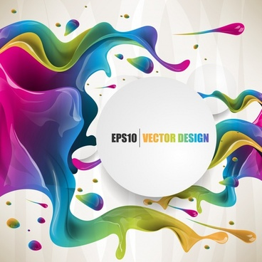 fashion colorful background vector