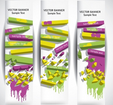 fashion colorful strip background vector