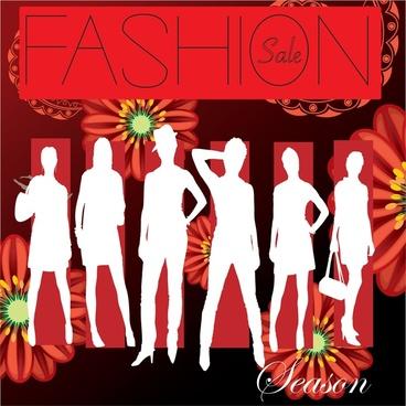 fashion cover vector