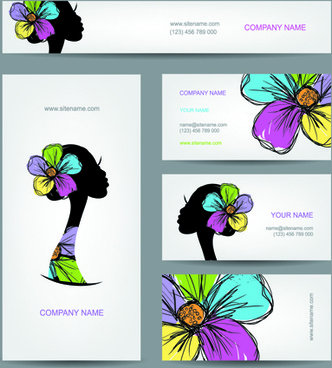 fashion creative banner and cards vector