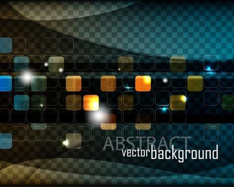 fashion halo background vector