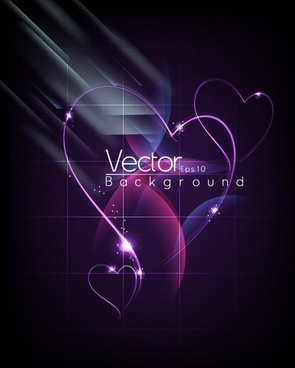 fashion halo dynamic background 04 vector