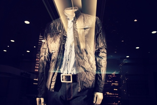 fashion jacket stained glass window