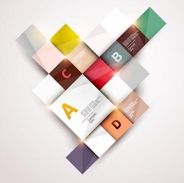 Fashion labels alphabet vector3