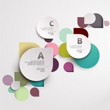 Fashion labels alphabet vector4