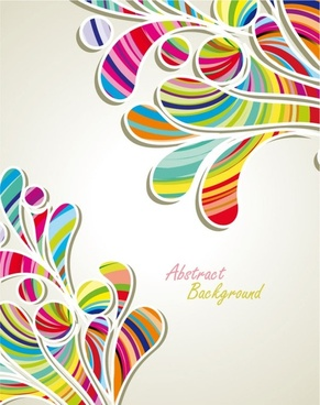 fashion pattern background 04 vector