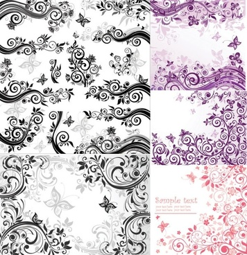 fashion pattern vector