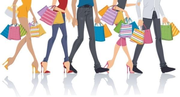 fashion shopping 03 vector