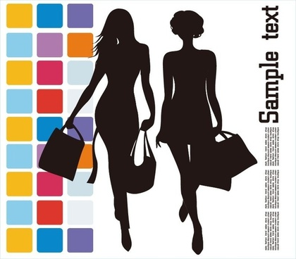 Fashion Shopping Vector Illustration