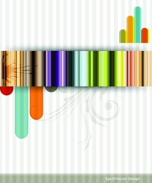 Fashion striped background