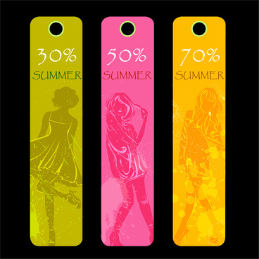 fashion summer sale tags