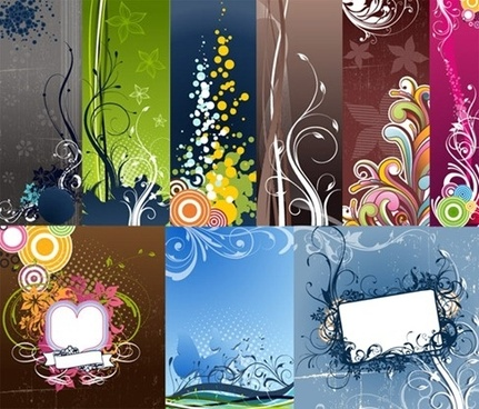 Fashion Vector Background Graphic Pack