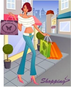 fashion women shopping 8