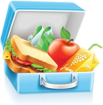 fast food icon realistic colorful 3d sketch