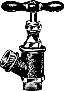 Faucet Plumbing clip art