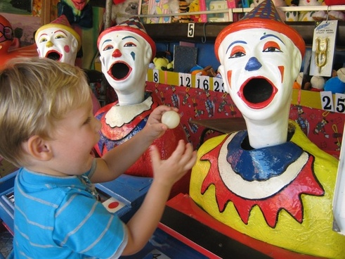 feeding the clowns