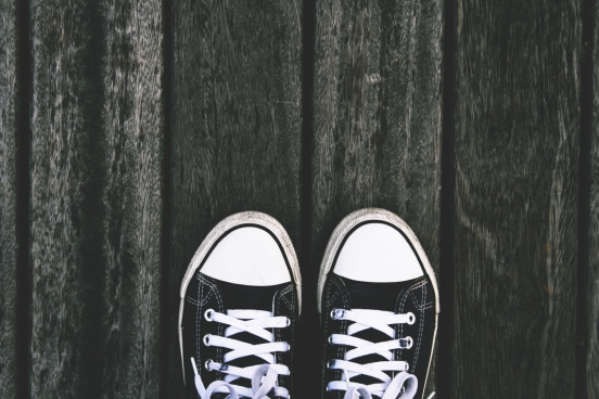 feet forward