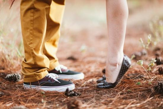 feet of couple