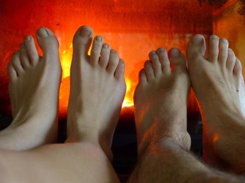 feet warm heat