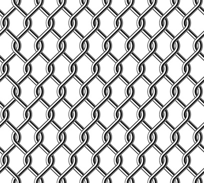 fence made of metal wire vector background graphic
