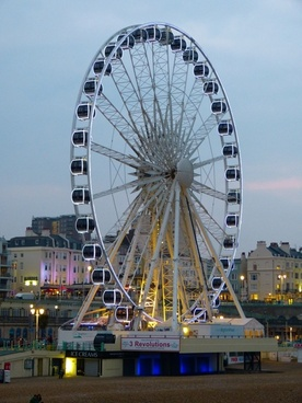 ferris wheel brighton england