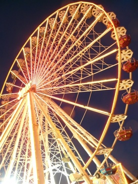 ferris wheel year market fair