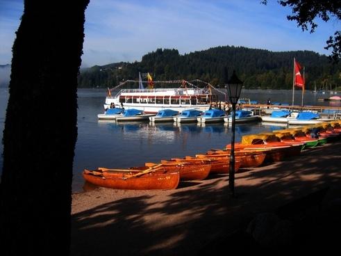 ferry boats dock