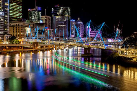 ferry light trails explore