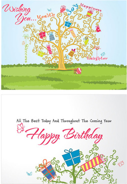 festival greeting cards vector background