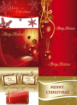 festive christmas background vector