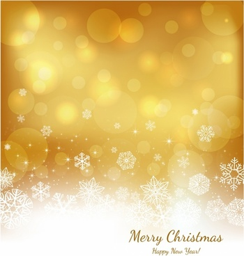 Festive gold background