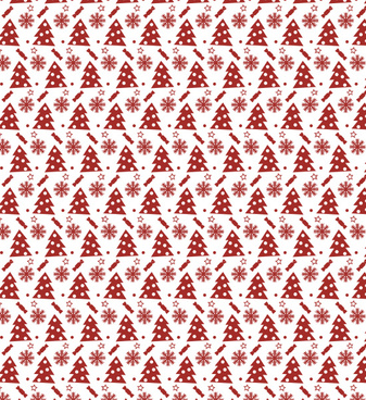 festive seamless christmas pattern
