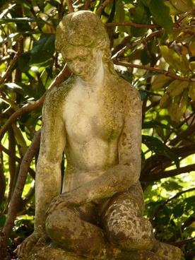 fig stone stone figure