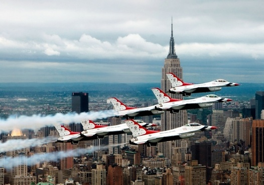 fighter jets new york fomrationsflug