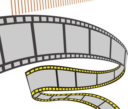 film elements design vector